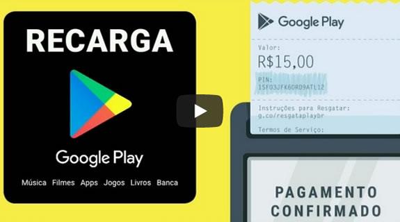 Novidade Épica da PlayStore - Recarga Google Play - Nova Forma de Colocar Créditos Na PlayStore