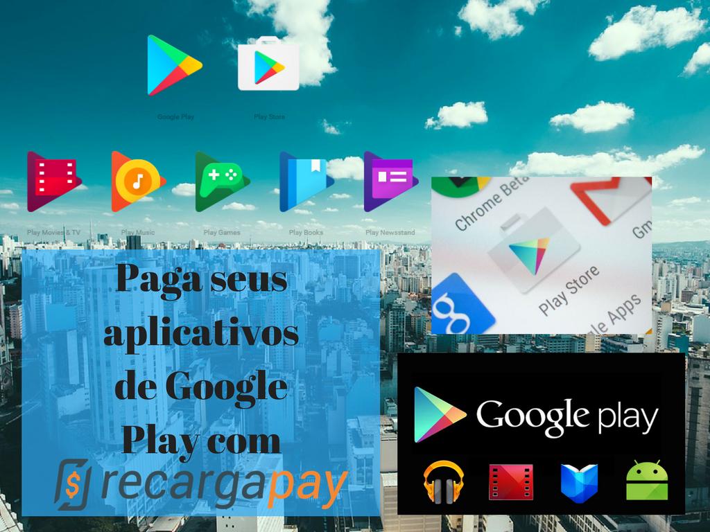 Paga seus aplicativos de Google Play com nossa app