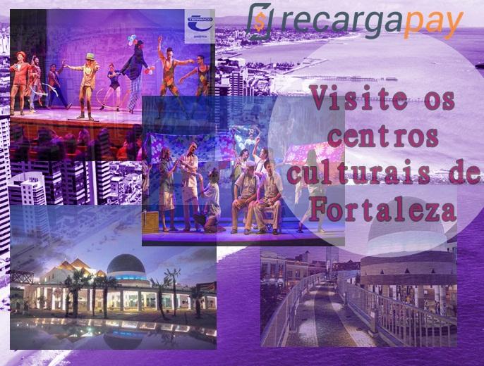 Visite os centros culturais de Fortaleza