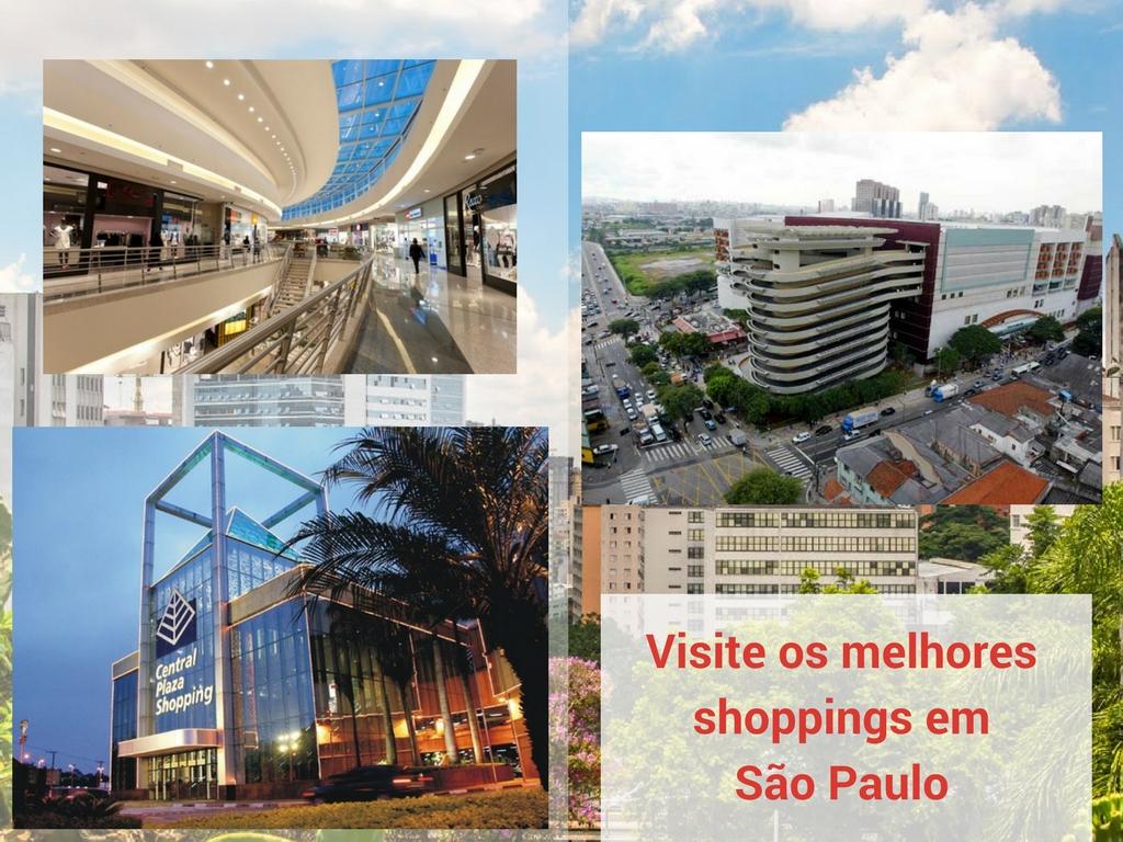 Visite os melhores shoppings em São Paulo