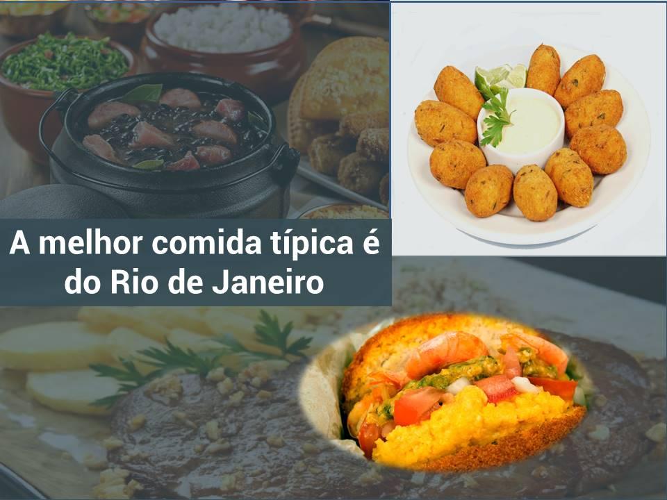 Variedade gastronômica no Rio