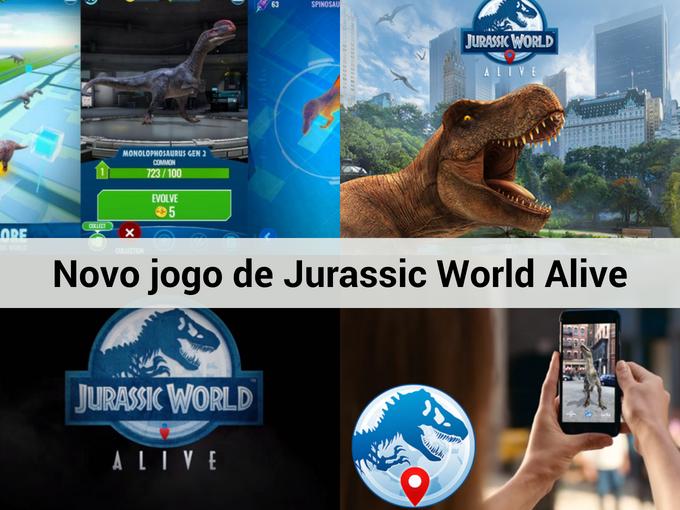 Saiba mais sobre Jurassic World Alive