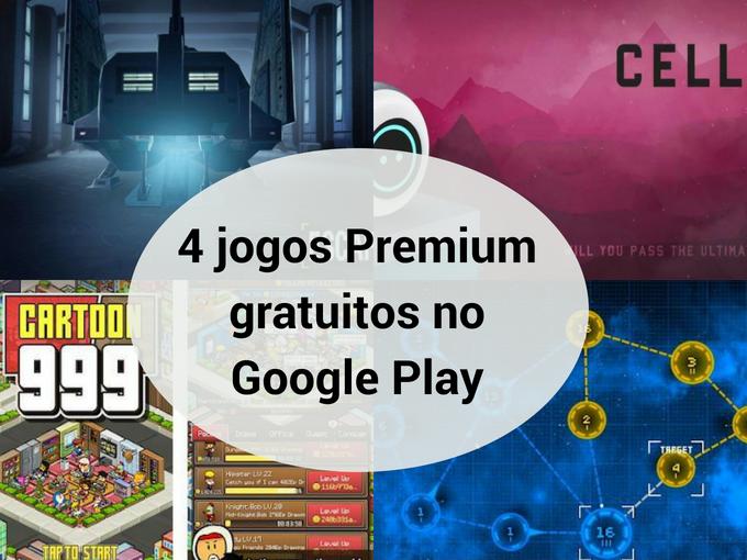 4 jogos Premium gratuitos na Google Play