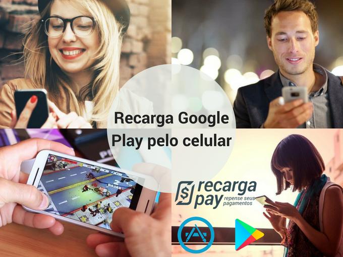Recarga Google Play em Minas Gerais