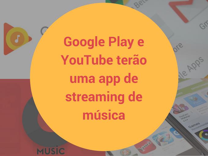 Detalhes do YouTube Music do Google Play