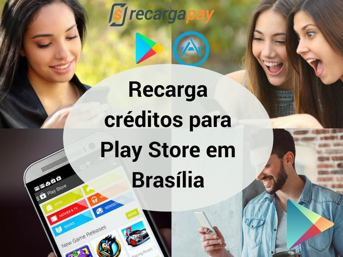 Recarga Play Store conosco
