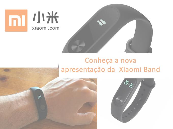 Conheça o novo Xiaomi Band 3