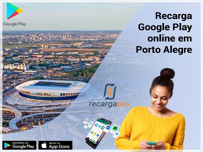 Recarga Google Playonlineem Porto Alegre