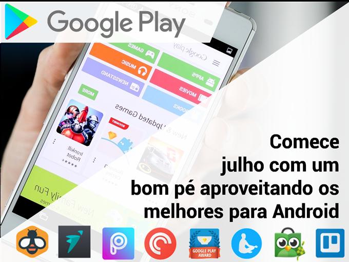 Os melhores aplicativos para Android