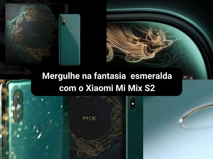 Edição especial em verde de Xiaomi Mi Mix S2