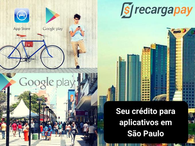Recarregar Google Play em São Paulo agora é possível
