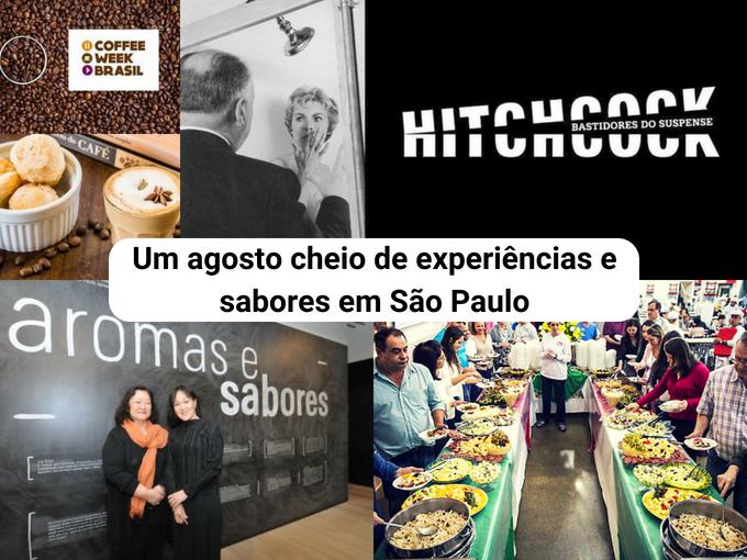 As melhores atividades de agosto em São Paulo