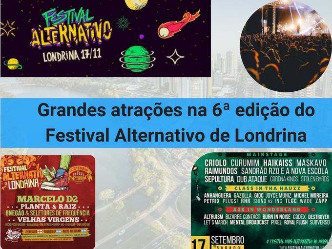 6 edição do Festival Alternativo de Londrina