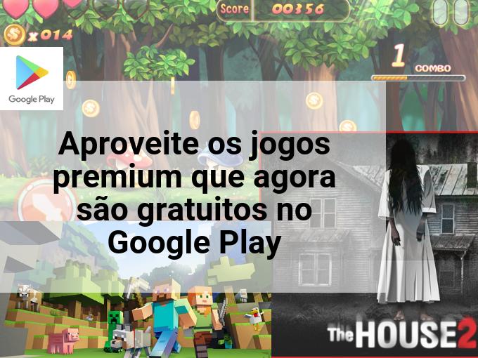 Jogos gratuitos no Google Play