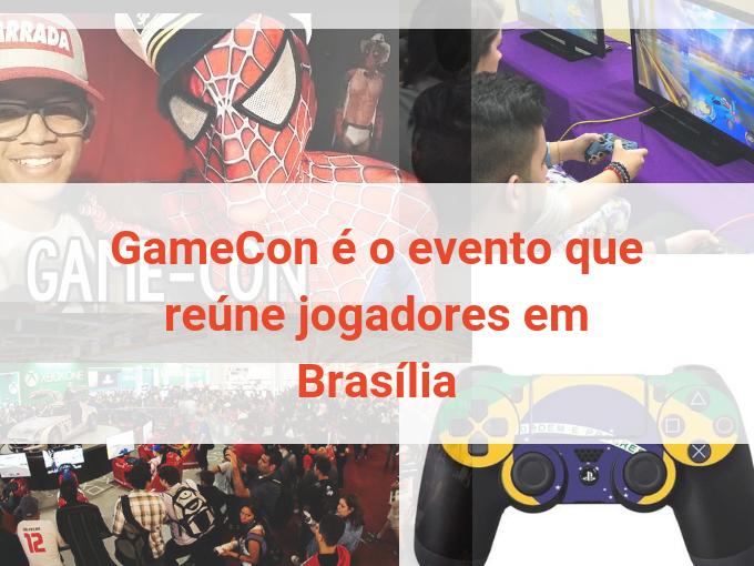 GameCon é o evento que reúne jogadores em Brasília