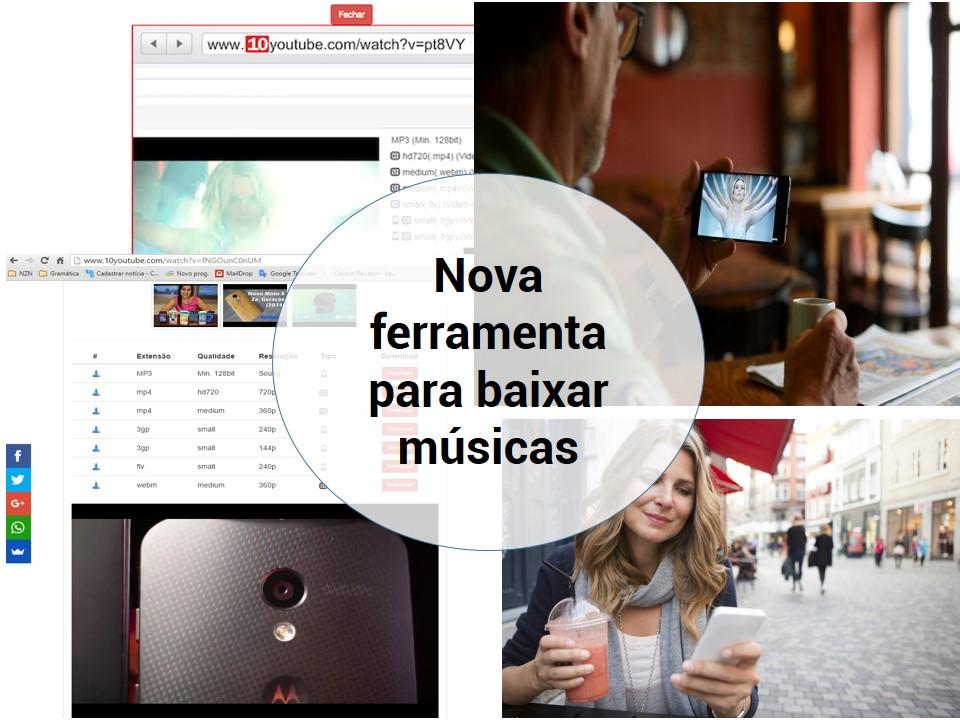 Baixa musica e videos en Youtube