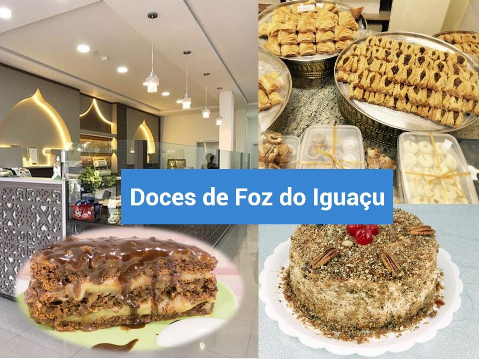 Foz do Iguaçu é o lugar dos doces