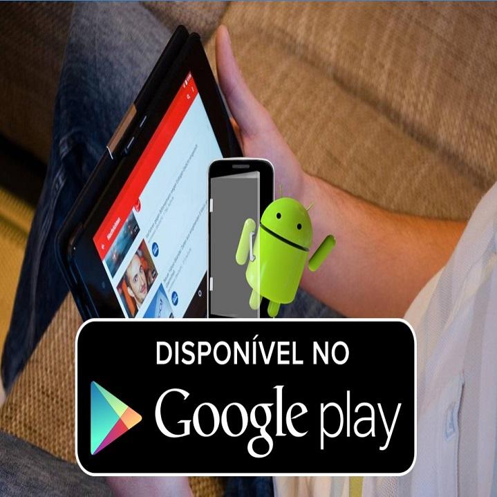 Baixe o aplicativo para Android em Goolge Play