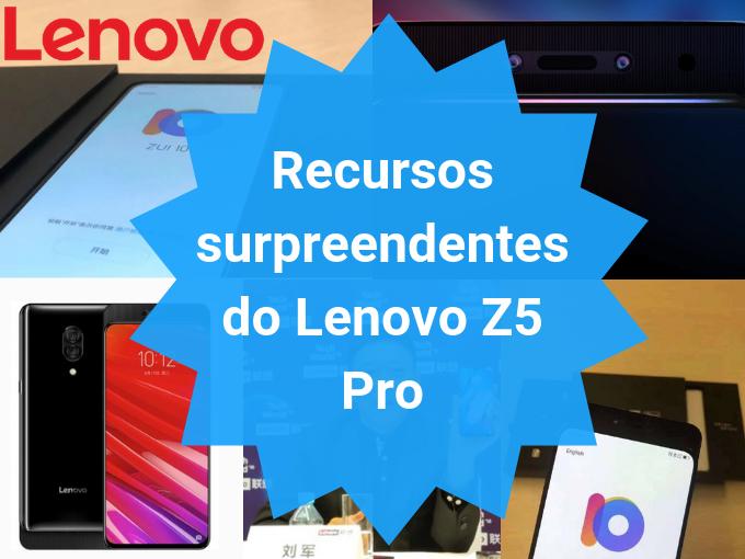 Especificações do Lenovo Z5 Pro