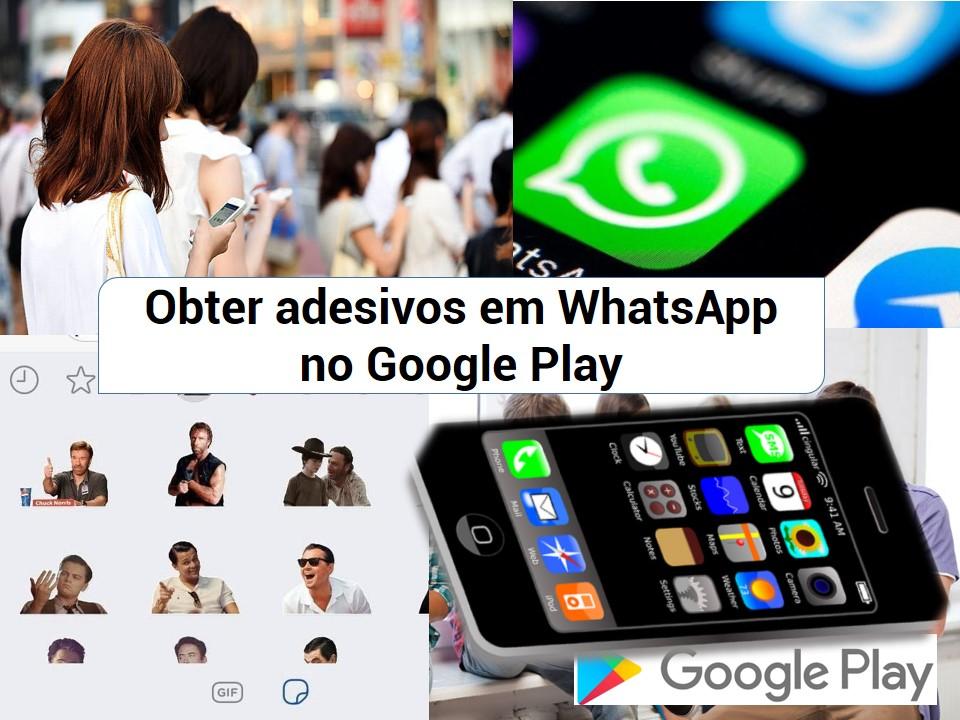 WhatsApp com novos stickers
