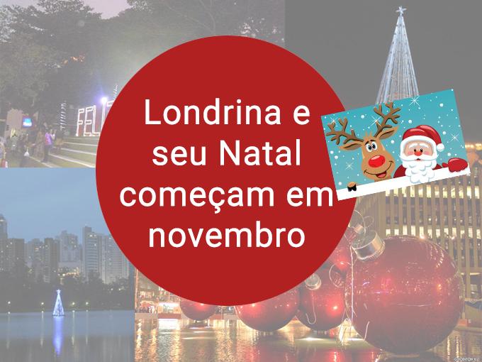 A véspera de Natal vem com uma campanha em Londrina