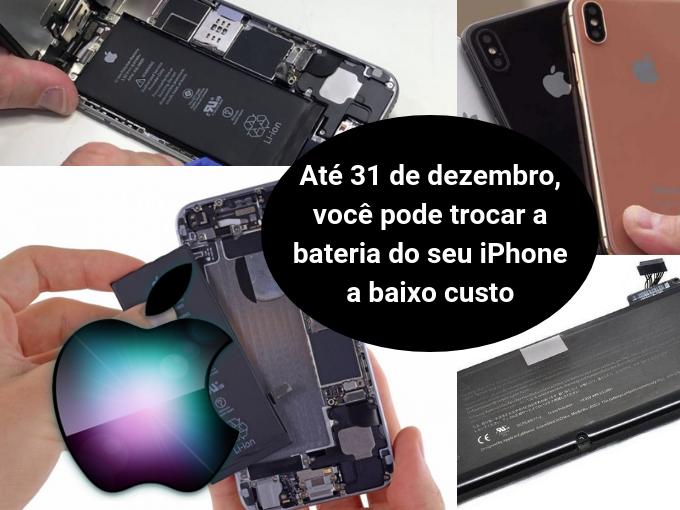 Um mês para comprar baterias para o seu iPhone