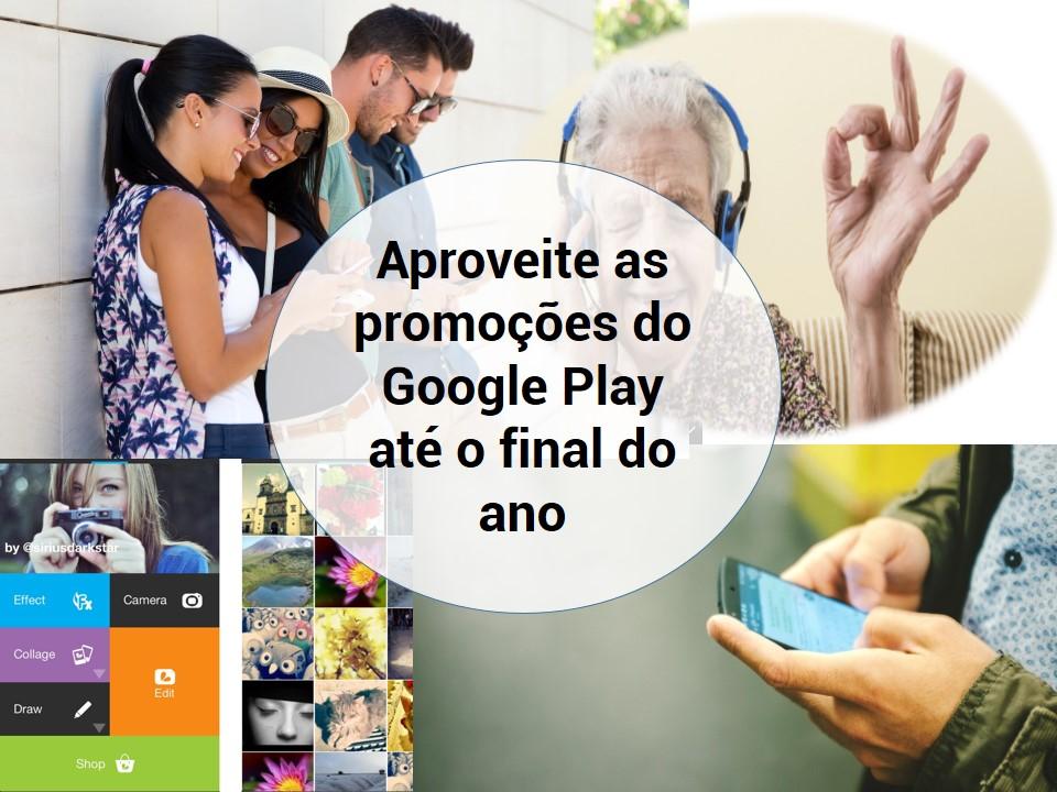 Novas promoções de Google Play