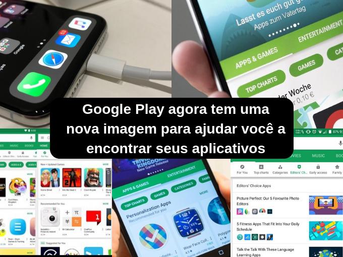 Google Play fecha o ano com novo design