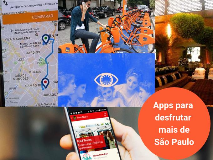 Os aplicativos são úteis para conhecer São Paulo em profundidade