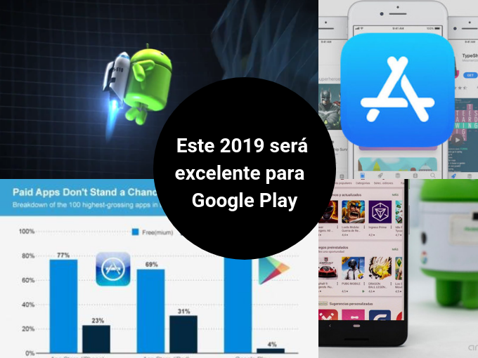 Google Play produz mais downloads do que a App Store