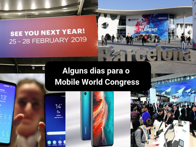 Mobile World Congress 2019 está se aproximando