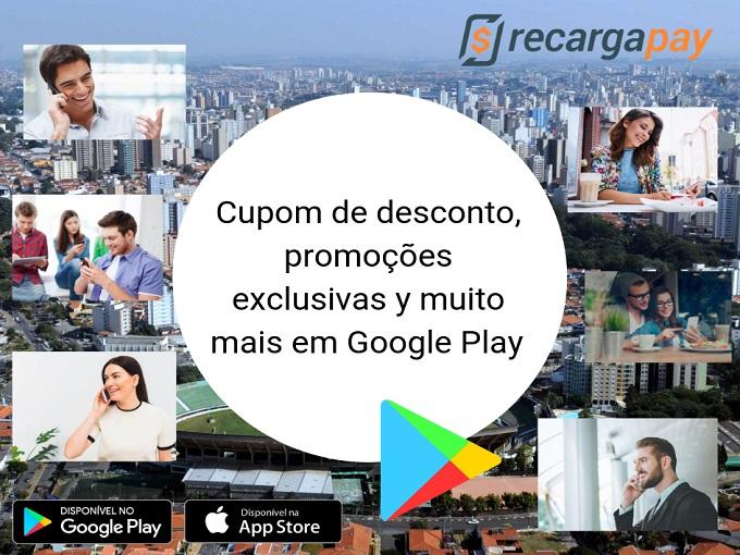 Cupom de desconto, promoções exclusivas y muito mais em Google Play