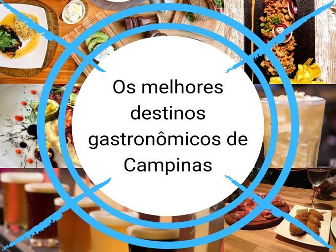 Os melhores destinos gastronômicos de Campinas