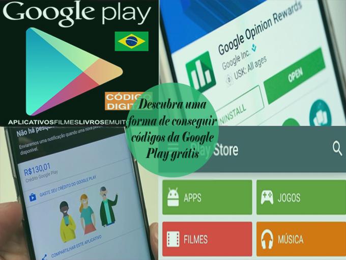 Saiba como conseguir códigos da Google Play grátis