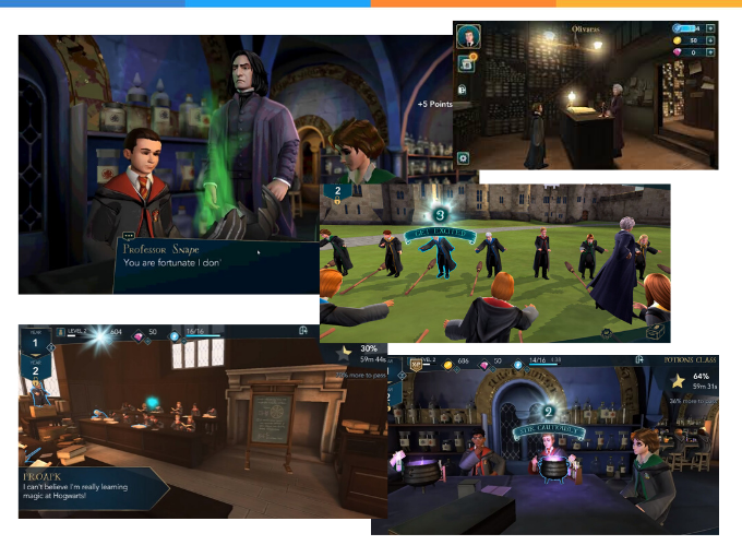 Reviva a magia em Harry Potter: Hogwarts Mystery