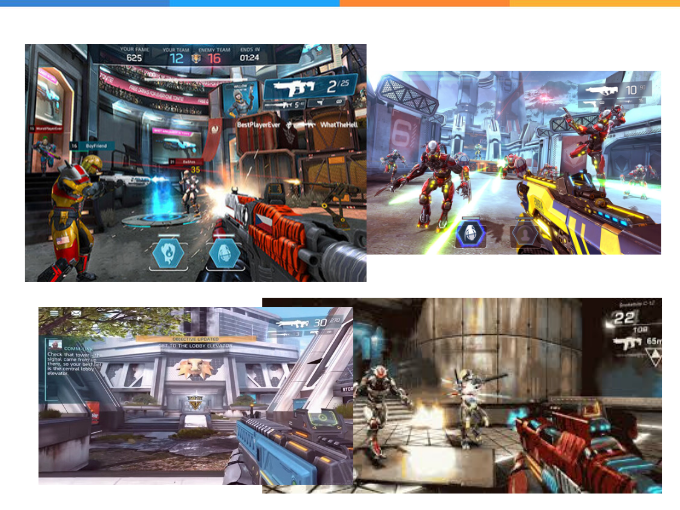 Mais de 200 missões esperam por você em Shadowgun Legends