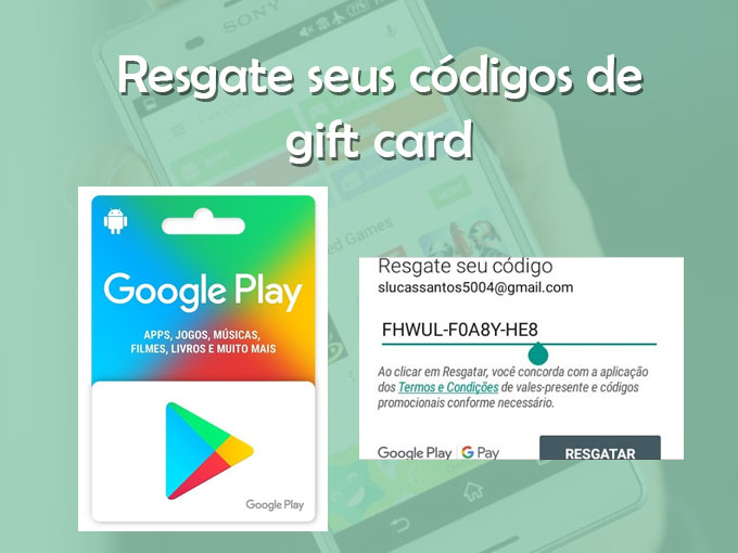 codigo de resgate play store gratis 2019