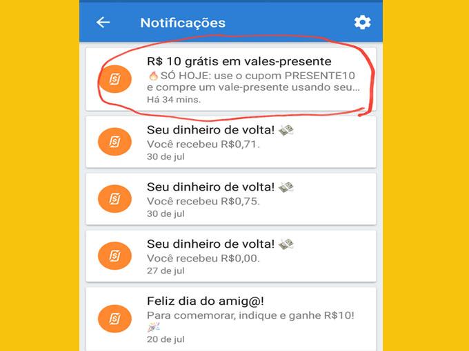 Obtenha códigos google play válidos com RecargaPay