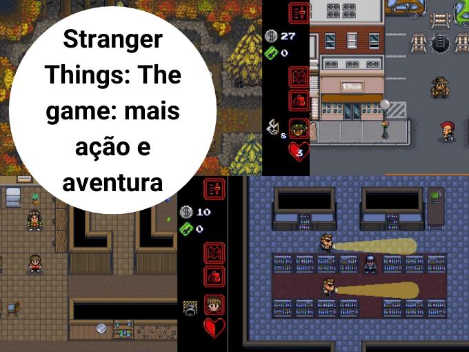 Stranger Things: The game: mais ação e aventura