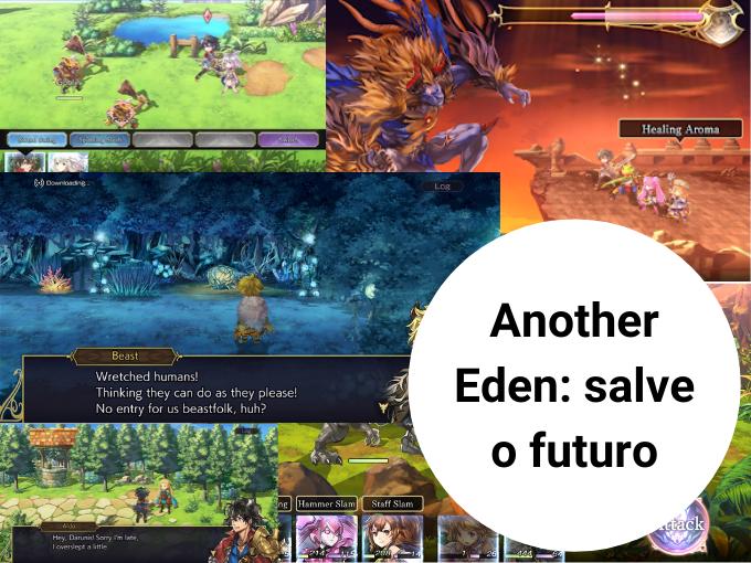 Another Eden: salve o futuro com os melhores jogos online GRATIS