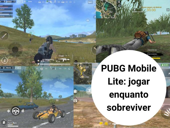 PUBG Mobile Lite: jogar enquanto sobreviver