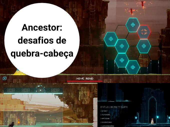Ancestor: desafios de quebra-cabeça
