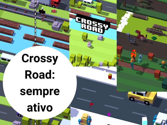 Crossy Road: sempre ativo com os jogos online GRATIS