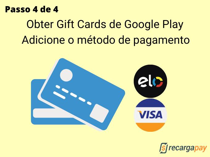 Passo 4 de 4 para Obter Gift Cards de Google Play (4)